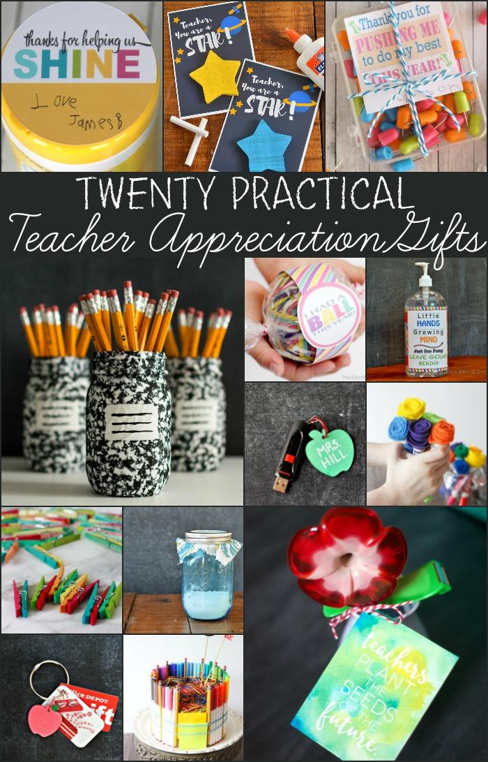 20 Practical Teacher Appreciation Gifts