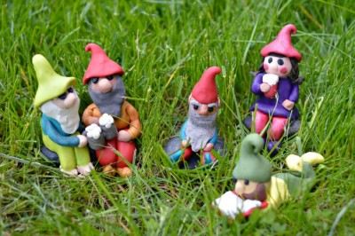 TINY POLYMER CLAY GNOMES