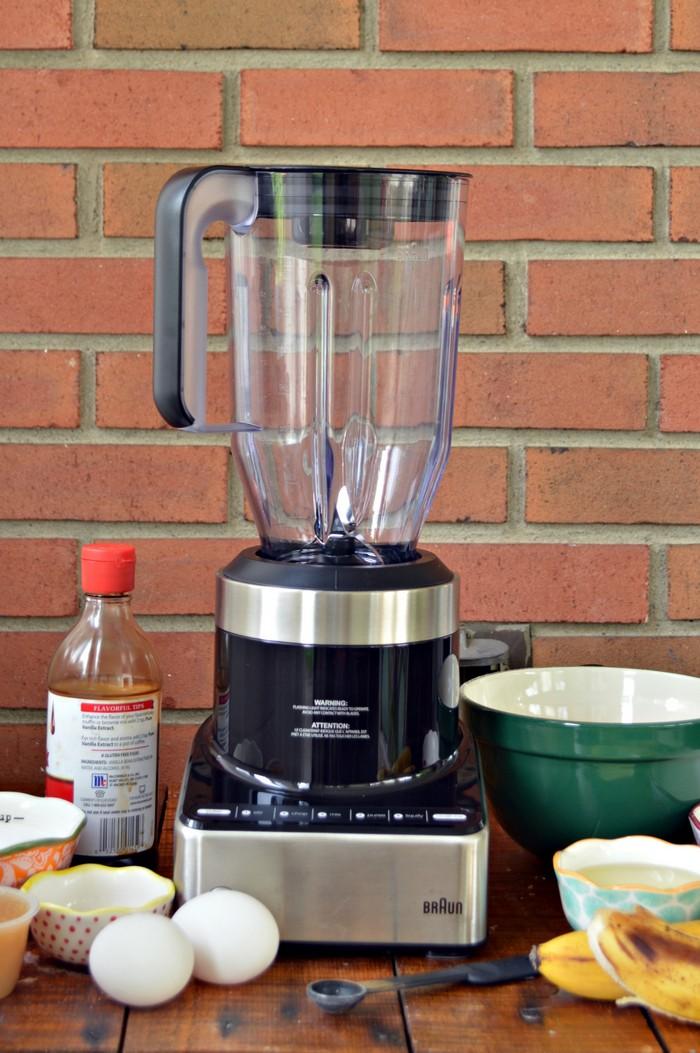 Make Banana Bread in a Blender