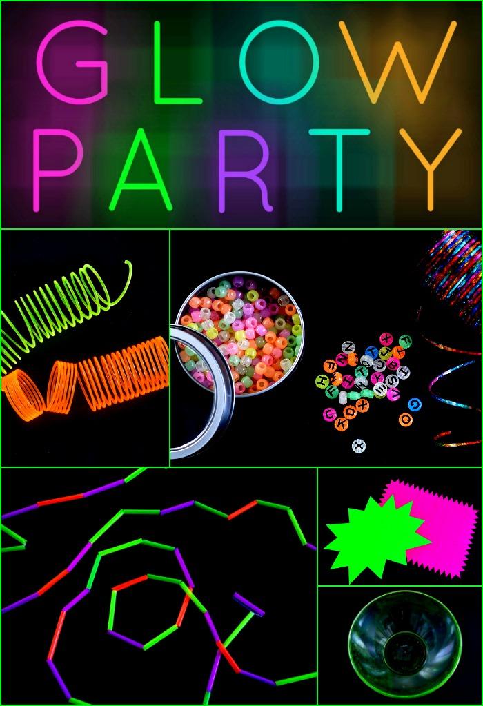 diy-glow-party