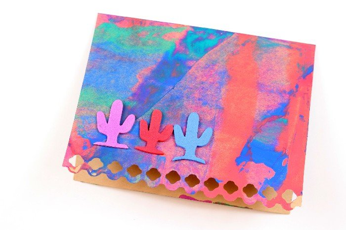 EASY SCRAPE PAINT NOTE CARDS