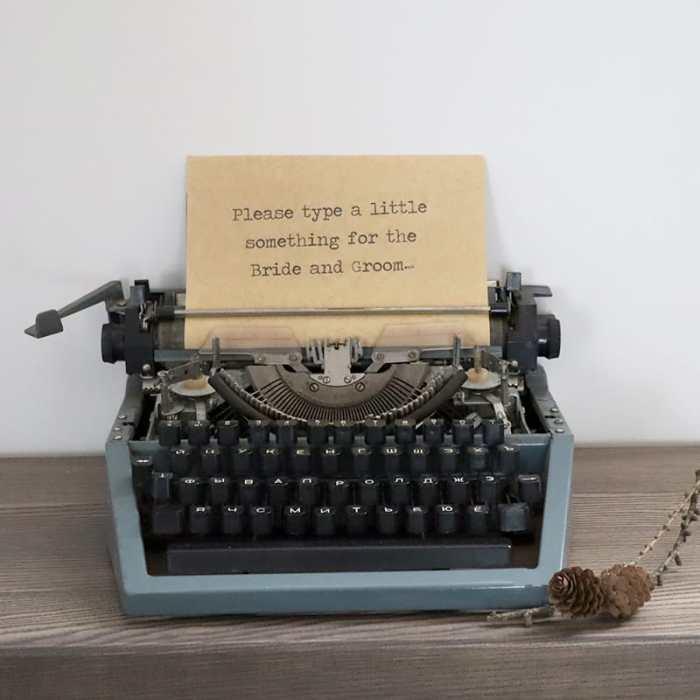 Senovinė spausdinimo mašinėlė nuoma
