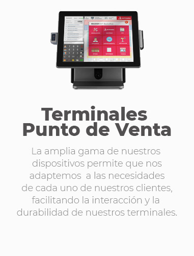 Terminales punto de venta