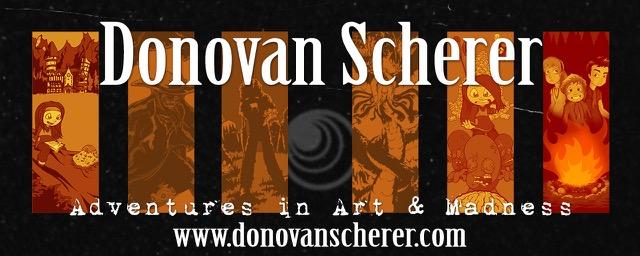 Donovan Scherer's Studio Moonfall