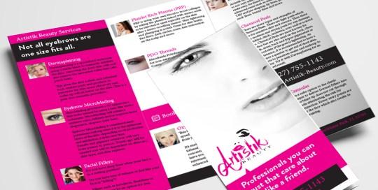 madison ave graphics Portfolio-Artistik-Beauty-Brochure