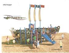 Canastota Playground Jolly Voyager