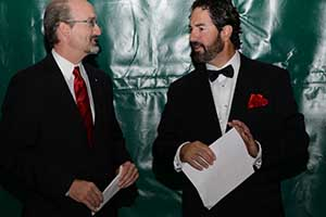 Dr. Randy VanWagoner and Symeon Tsoupelis