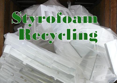 Styrofoam bagged