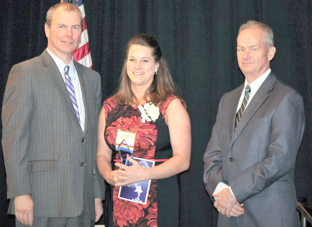 Local executive receives james w sanderson memorial award for local executive receives james w sanderson memorial award for leadership madison county courier 1betcityfo Image collections