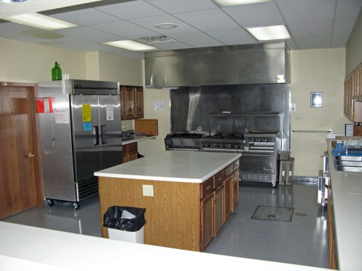 Kitchen is available for FOOD SERVICE ONLY. It is not available for food preparation.