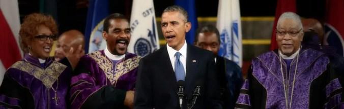 Amazing Grace - Barack Obama