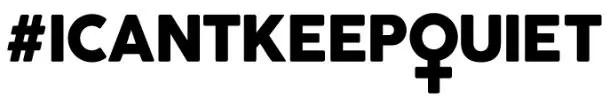#ICantKeepQuiet