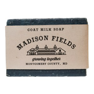 Goat Milk Soap with Activated Charcoal by Madison Fields