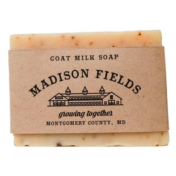 Coffee Almond Goat Milk Soap by Madison Fields