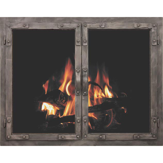 Christmas Fireplace Screens