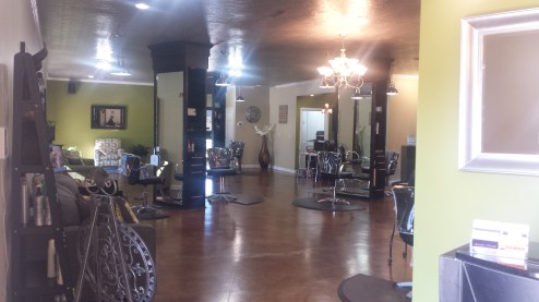 We have an open layout for serving many clients at once