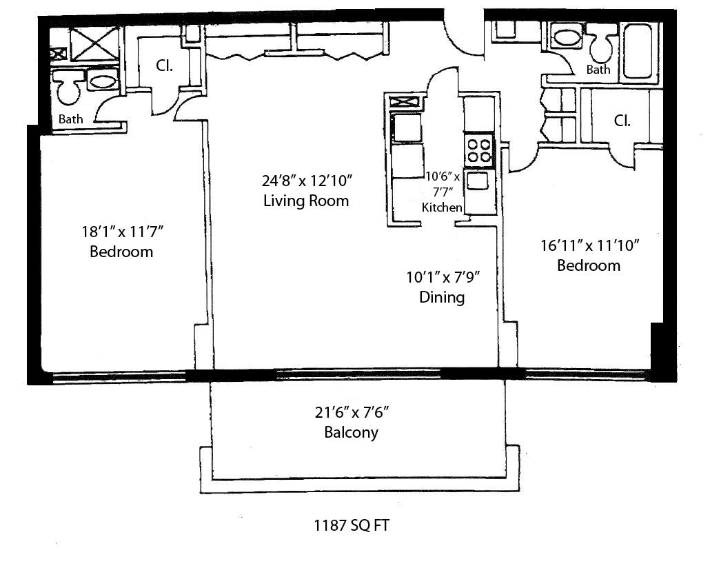 Floorplans Madison House Condos