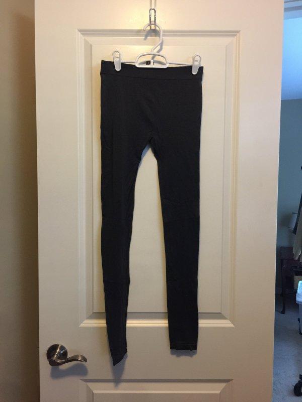 21 leggings gray one size