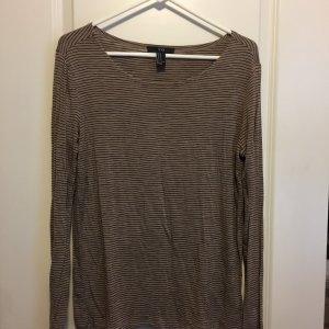 21 longsleeve shirt brown medium