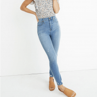 Madewell 10″ High-Rise Roadtripper Jeggings in Jancey Wash