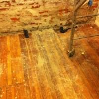 Before, After, During: Floor Repair