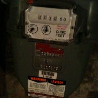 Our New Gas Meter