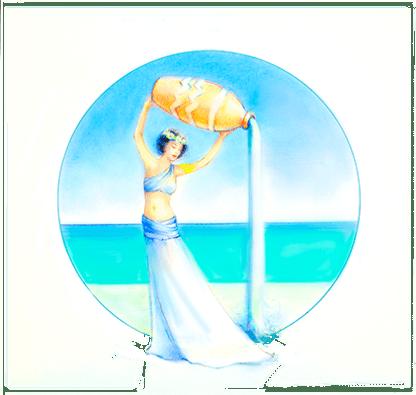 Zodiac Woman Aquarius