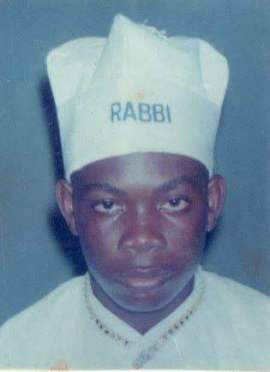 Don Jazzy as the Cherubim & Seraphim 'kid rabbi'