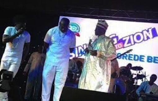 Don Jazzy honoured by Cherubim & Seraphim church in Lagos
