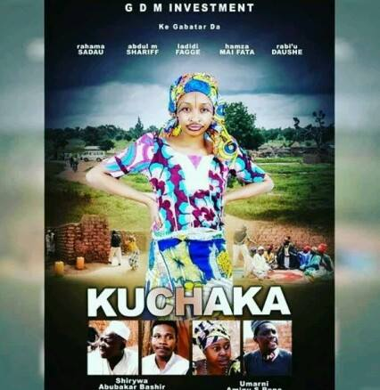 kannywood-actress-rahma-sadau-on-the-trailer-movie-kuchaka