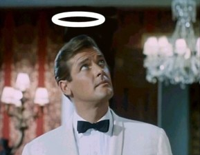 Roger Moore in The Saint 2