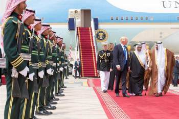 Trump . Trip to Saudi Arabia 2