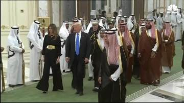 Trump . Trip to Saudi Arabia 6