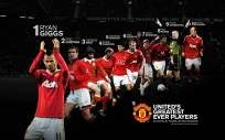 Man U . Man United Greatest Ever Players