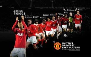 Man U . Man United Greatest Ever Players