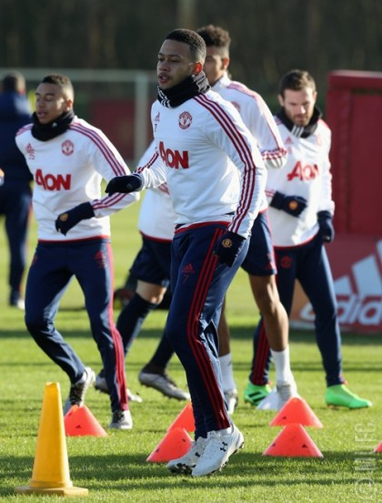 Man U . Training 1