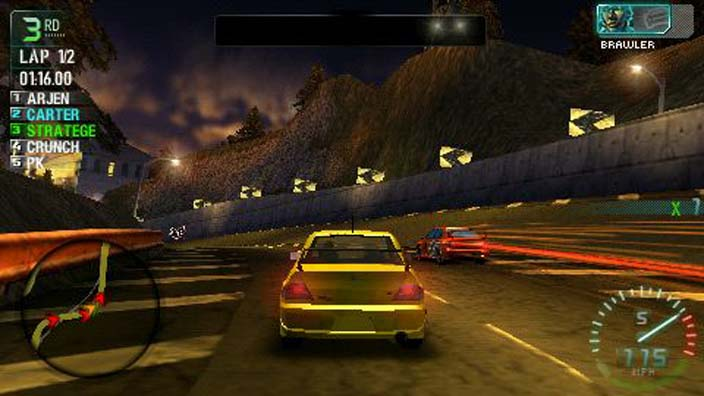 Need For Speed Carbon Own The City PSP ISO Download