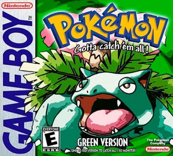 Pokemon Green Version 3DS Eshop Game Download