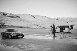 Mercedes with Tomek Olzowski - behind the scenes