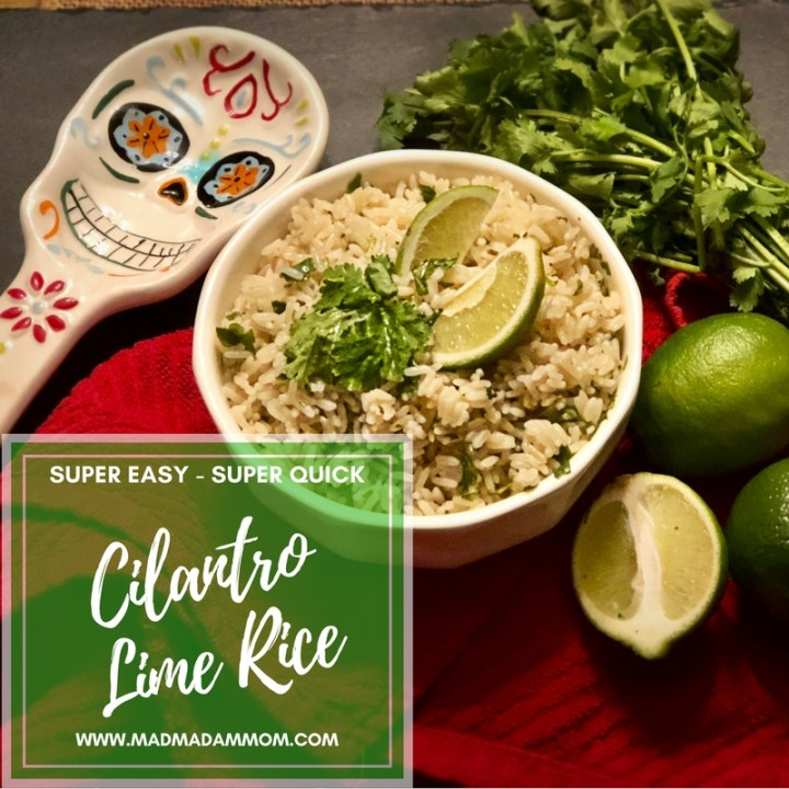 Food: Instant Pot – Cilantro Lime Rice (Chipotle Copy Cat)