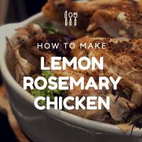 Food: Instant Pot - Lemon Rosemary Chicken