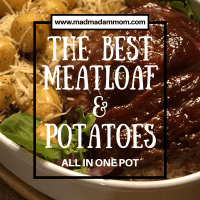 Food: Instant Pot - The BEST Meatloaf and Potatoes (All in one pot)