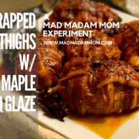 Food: Instant Pot - Bacon Wrapped Apple Maple Chicken