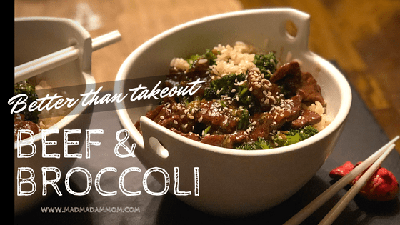 Food: Instant Pot - Beef and Broccoli