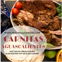 Food: Instant Pot/Slow Cooker - Carnitas Aguascalientes