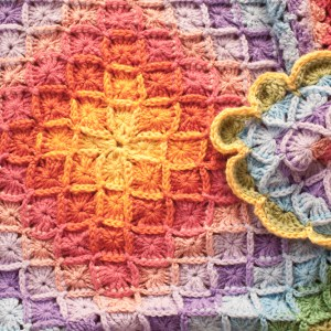 Bavarian Crochet Blanket and a Bit of Love