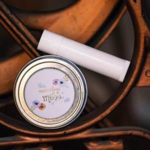 Nail Butter & Unscented Lip Balm Set