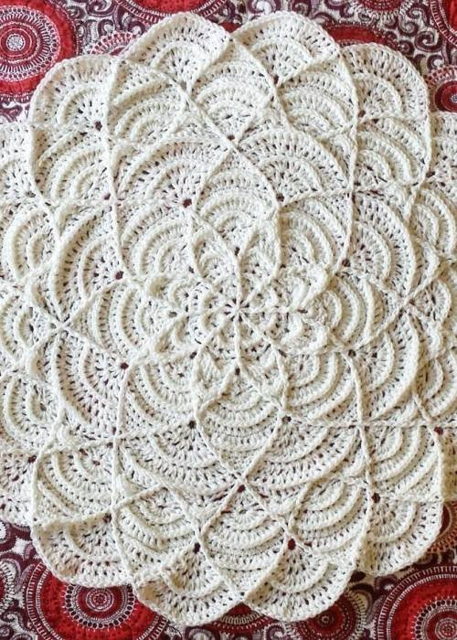 Flower Puddles & Ripples Blanket