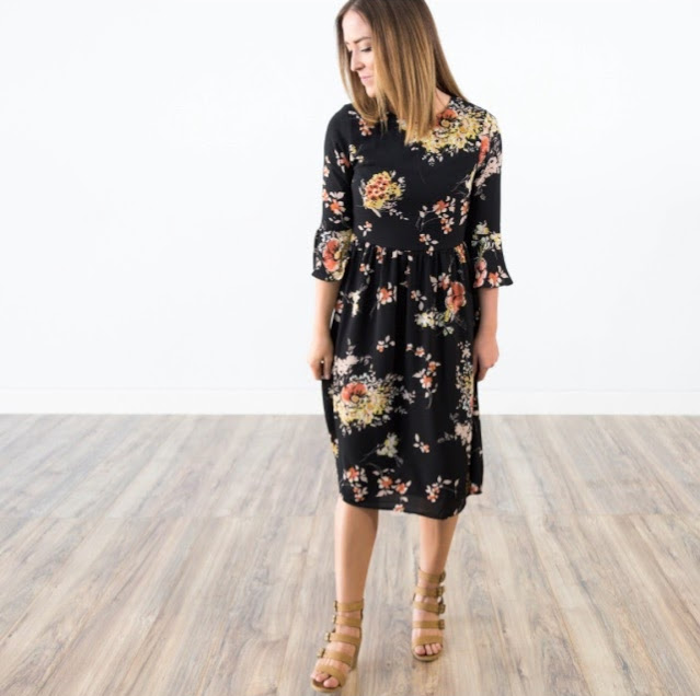 Analise Printed Dress