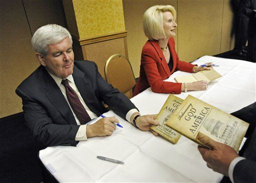gingrich stole from charity